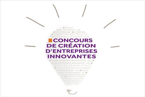 Résultats du 15e concours national d'aide à la création d'entreprises de technologies innovantes