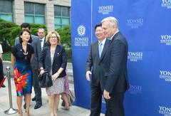 Signature d'accords universitaires et scientifiques en Corée