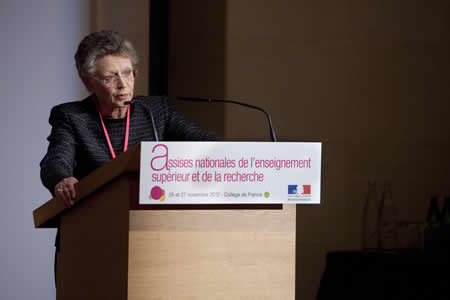 Françoise Barré-Sinoussi, présidente du comité de pilotage