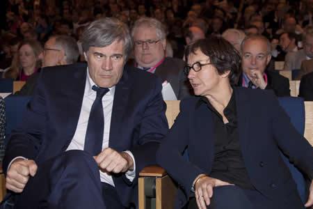 Stéphane Le Foll et Valérie Fourneron