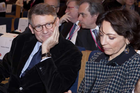 Vincent Peillon et Marisol Touraine