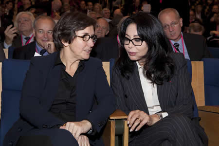 Valérie Fourneron et Yamina Benguigui