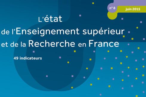 L'état de l'Enseignement supérieur et de la Recherche en France (n°8 - Juin 2015)