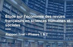 Etude sur l'économie des revues françaises en SHS