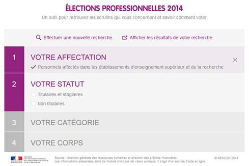 Élections professionnelles : qui vote pour quelle(s) instance(s) ?