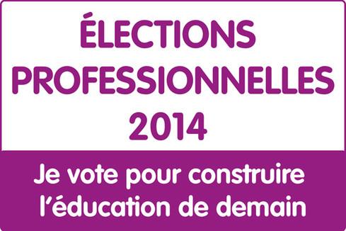 Résultats des élections professionnelles 2014 dans l'enseignement supérieur et la recherche