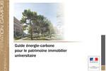 Opération Campus : Guide énergie-carbone pour le patrimoine universitaire