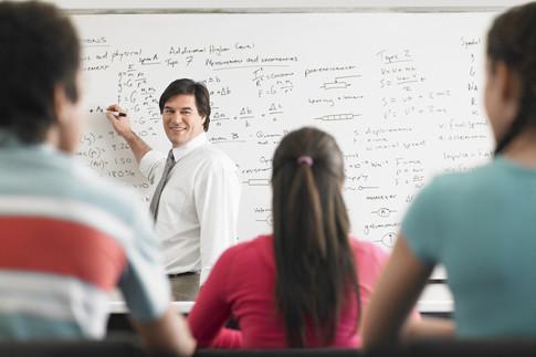 enseignant en cours