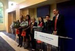 Réception en l'honneur des lauréates de 'Ma thèse en 180 secondes'