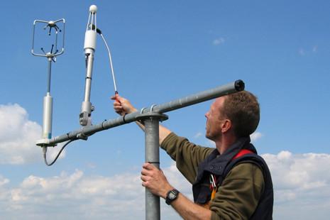 Contrôle de la fenêtre d'un analyseur CO2/H2O