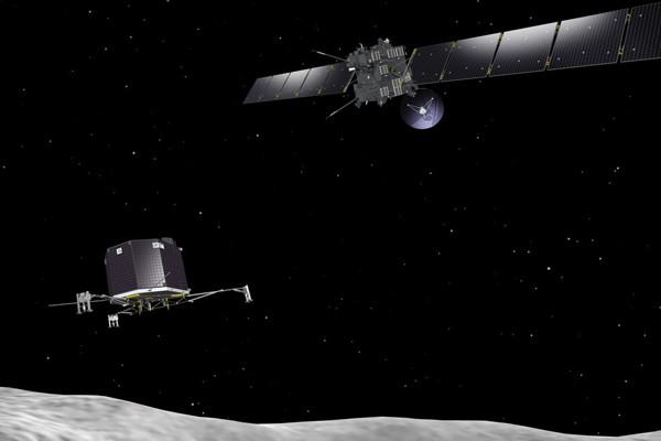 Sonde Rosetta et atterrisseur Philae