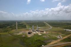 Ensemble de lancement ELA 3 du centre spatial guyanais