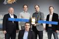 Laurent Lestarquit et son équipe, prix de l'inventeur européen 2017