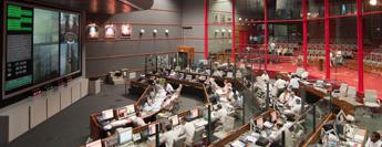 Suivi des opérations de lancement en salle Jupiter