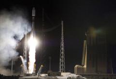 Décollage de la fusée Soyouz