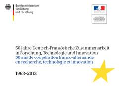 50 ans de coopération franco-allemande recherche, technologie, innovation