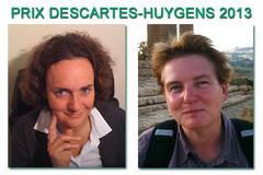 Prix Descartes-Huygens 2013