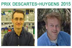 Prix Descartes-Huygens 2015