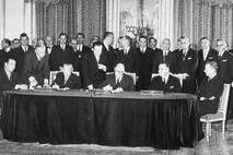 Signature du Traité de l'Elysée en 1963