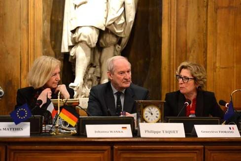 Semaine franco-allemande de la science: discours de Johanna Wanka