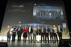 Remise des Etoiles de l'Europe 2017