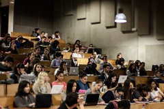Étudiants en amphi paris 7