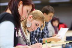 Étudiantes en cours