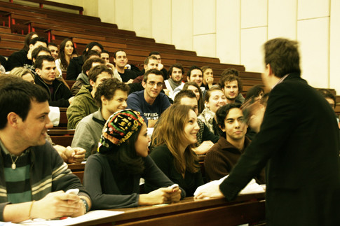 Étudiants en amphi