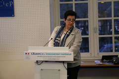 """Frédérique Vidal à la Journée """"L'europe de l'enseignement supérieur"""