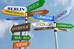 Les capitales européennes