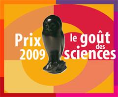 """Visuel 2009 """"le goût des sciences"""""""