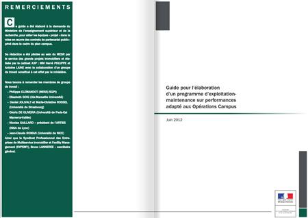 Guide : exploitation-maintenance sur performances adapté aux Opérations Campus