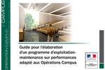 Opération Campus : Guide pour l'élaboration d'un programme sur performances
