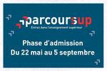 Parcoursup : début de la phase d'admission dans l'enseignement supérieur le 22 mai 2018