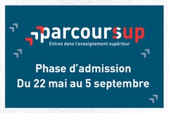 Parcoursup - Phase d'admission