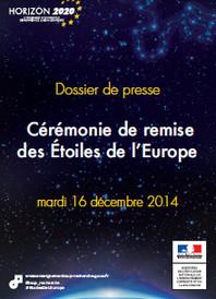 Dossier de presse : Cérémonies de remise des Etoiles de l'Europe