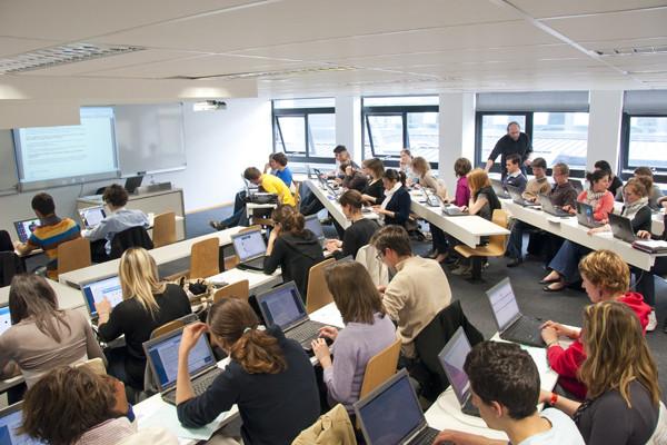 Etudiants en cours