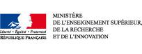 Logo du Ministère de l'enseignement supérieur et de la recherche