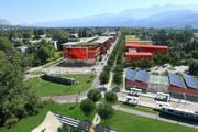 Vue aérienne du Campus Est