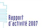 Rapport d'activité 2007 du Haut fonctionnaire de défense et de sécurité