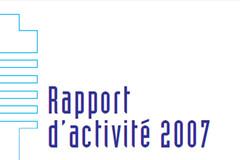 Rapport d'activité Haut Fonctionnaire de défense et de sécurité 2007