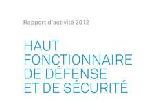 Rapport d'activité Haut Fonctionnaire de défense et de sécurité 2012