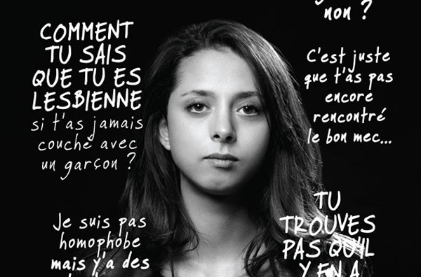 Affiche campagne homophobie 2015
