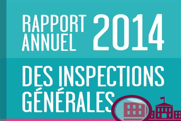 Rapport annuel 2014 IGEN-I.G.A.E.N.R.