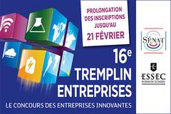 Concours Tremplin entreprises 2016