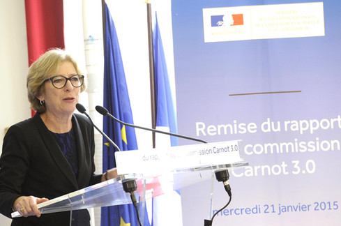 Remise du rapport de la Commission Carnot 3.0