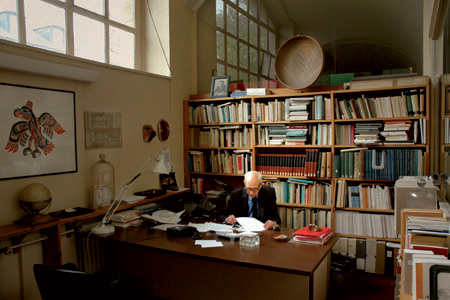 Le bureau de Claude Lévi-Strauss
