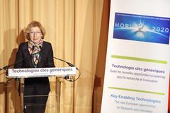 G. Fioraso - ouverture des rencontres sur les technologies clés génériques