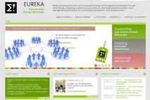 Page d'accueil du site Eureka