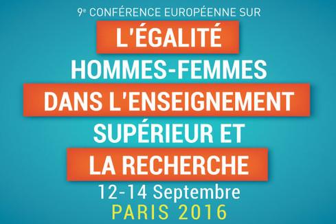 9e Conférence européenne sur l'égalité femmes-hommes dans l'enseignement supérieur et la recherche